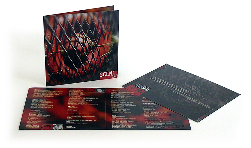 Scene – L.E.S. audio cd cover
