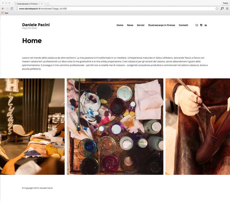 Daniele Pacini website