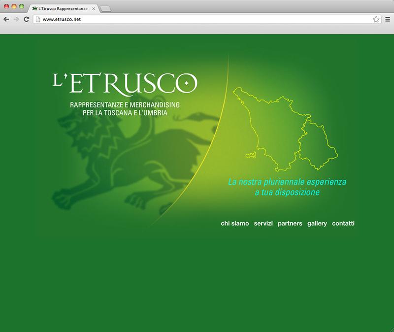 L'Etrusco website