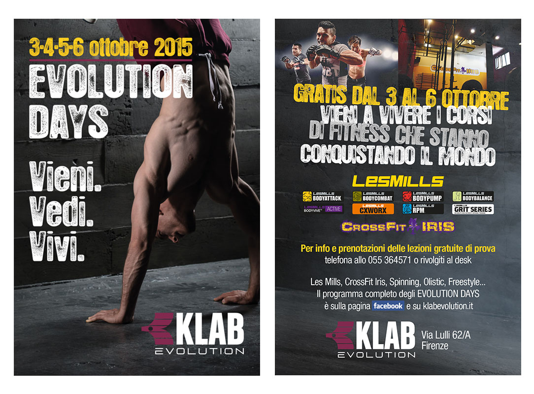 Evolution Days evento Klab Evolution
