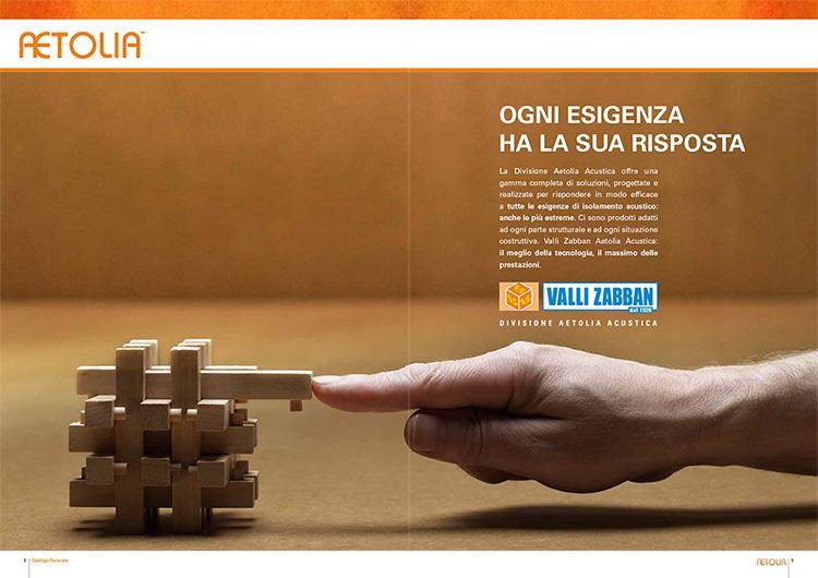 Catalogo Aetolia Salvaconnome per Studio Calonaci